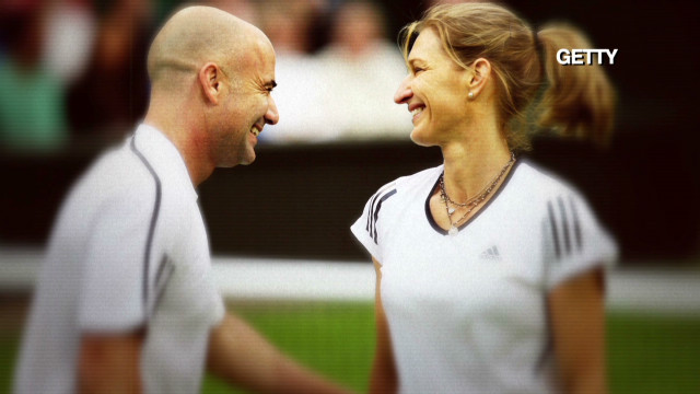 Elite coaching with Graf, Agassi