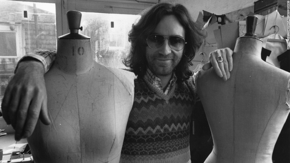 Clothing Designers From The 70's English fashion designer Ossie