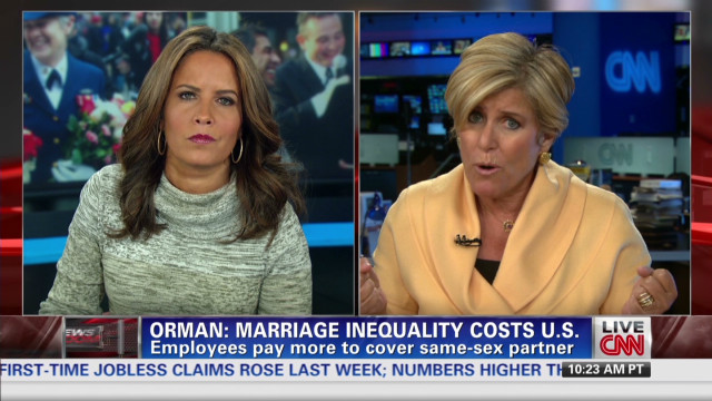 Suze Orman talks gay marriage, economy