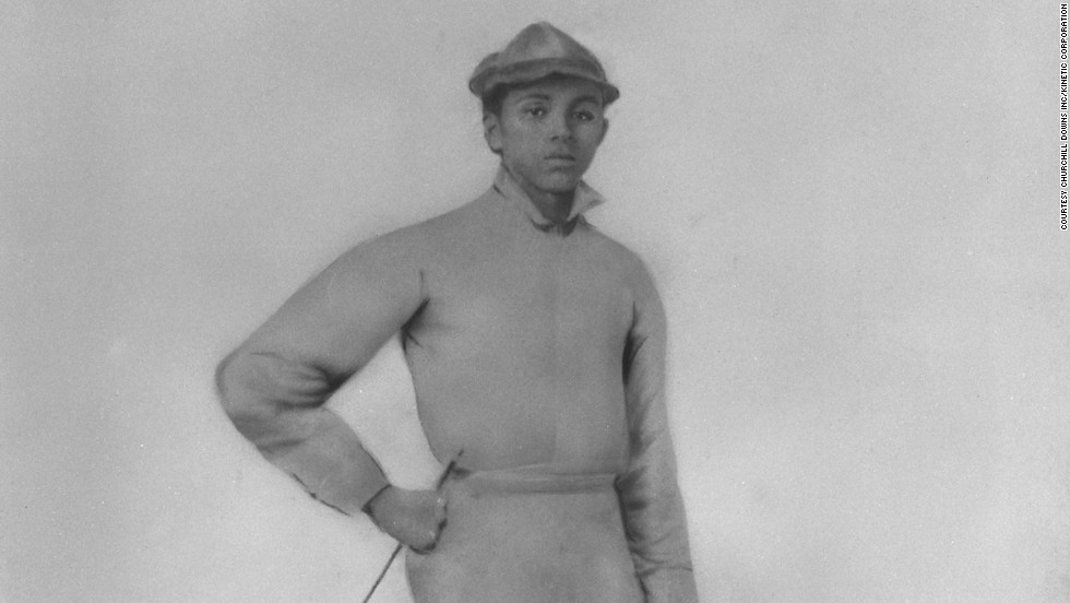 When the country's most prestigious horse race, the Kentucky Derby, launched in 1875, 13 of the 15 jockeys competing were African American. William Walker (pictured) was one of the first to take the trophy in 1877.