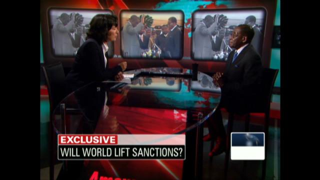 2009: Amanpour interviews Mugabe