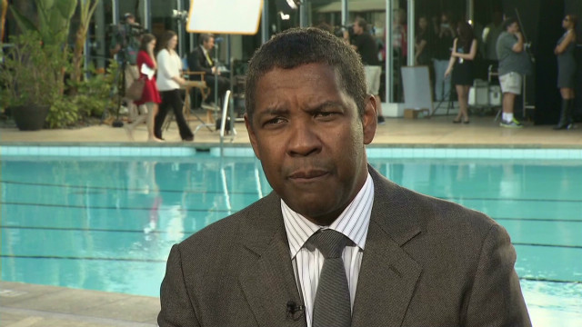 Denzel Washington at the Oscars Luncheon