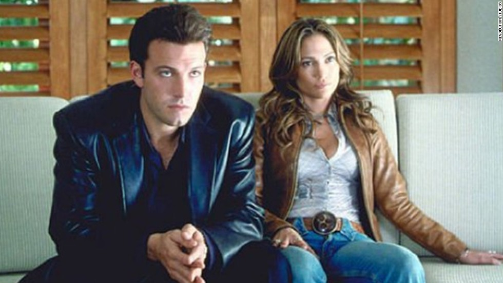 "Affleck and Jennifer Lopez fell in love on the set of 2003's universally panned ""Gigli."""