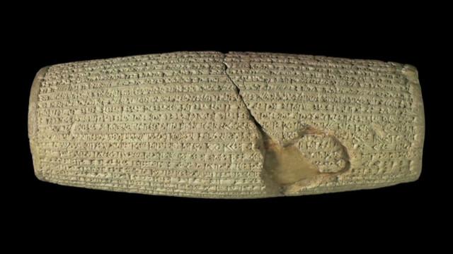 2,600-yr.-old object symbolizes tolerance