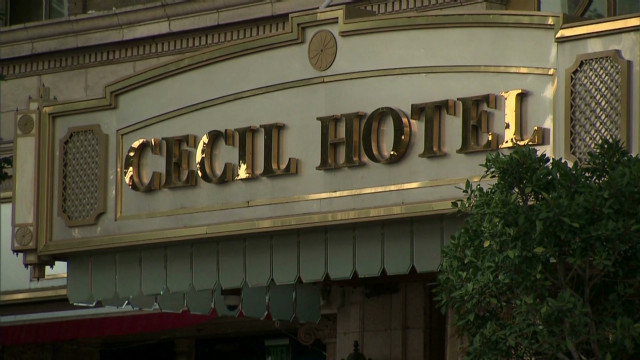 Hotel Cecil's haunted past