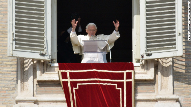 Rumors swirl around pope's resignation