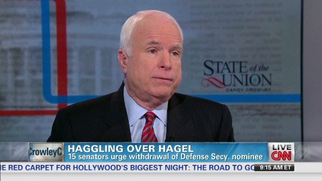 McCain: Hagel should get up or down vote