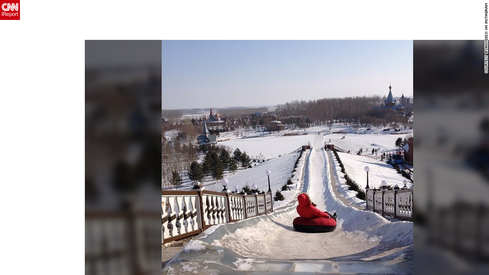 "<a href=""http://ireport.cnn.com/docs/DOC-932416"" target=""_blank"">Sin Yee</a> shares her photo of snow tubing fun on a nice winter's day."