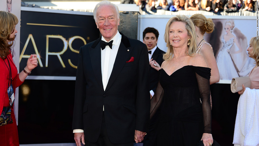 Christopher Plummer and Elaine Taylor
