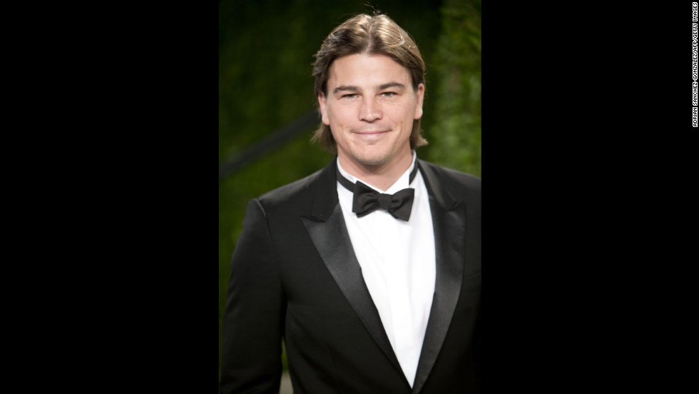 Josh Hartnett at the 2013 Vanity Fair Oscar party.