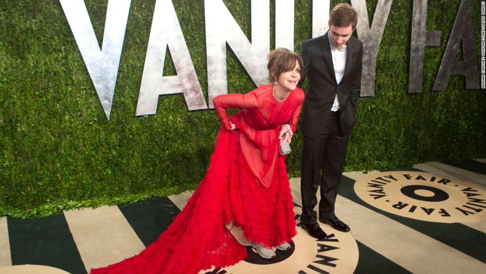 Sally Fields at the 2013 Vanity Fair Oscar party.