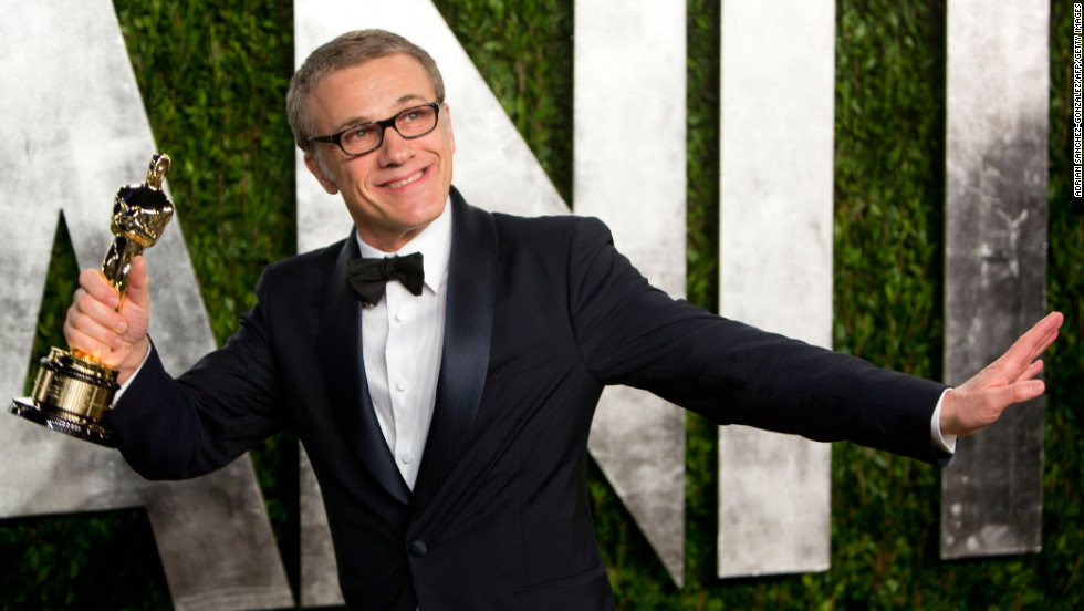 Christoph Waltz  at the 2013 Vanity Fair Oscar party.