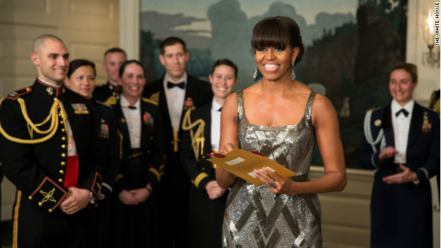 Michelle Obama goes Hollywood