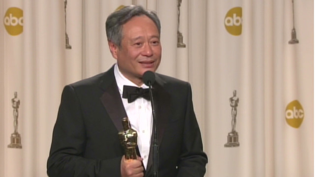 Ang Lee on winning Best Director Oscar