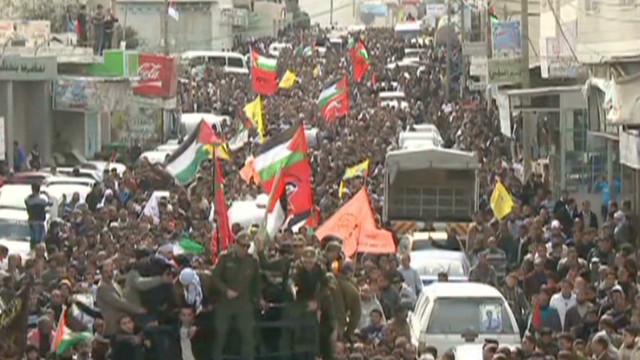 Fury in West Bank over prisoner death