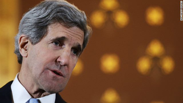 John Kerry works to assure Syrian rebels