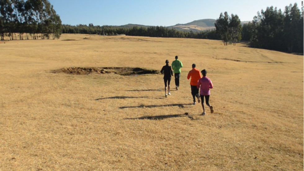 Bekoji is a small town in southern Ethiopia that's home to some of the world's most successful long-distance runners.