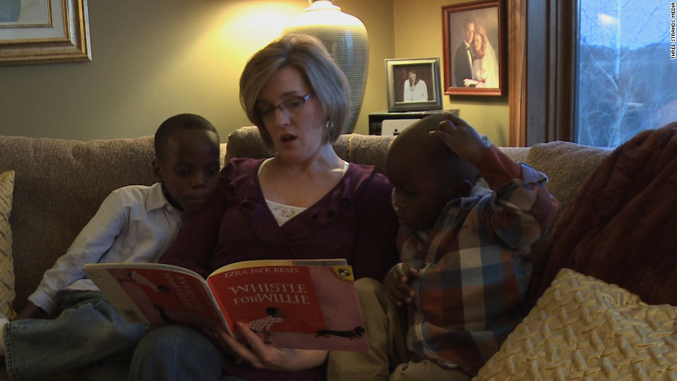 Back in Minnesota, Zach and Philip get a bedtime story and a life they could only dream of when they were in Uganda.