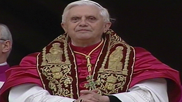 The pope says farewell to faithful