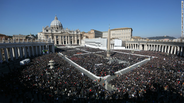 Papal installations of the past
