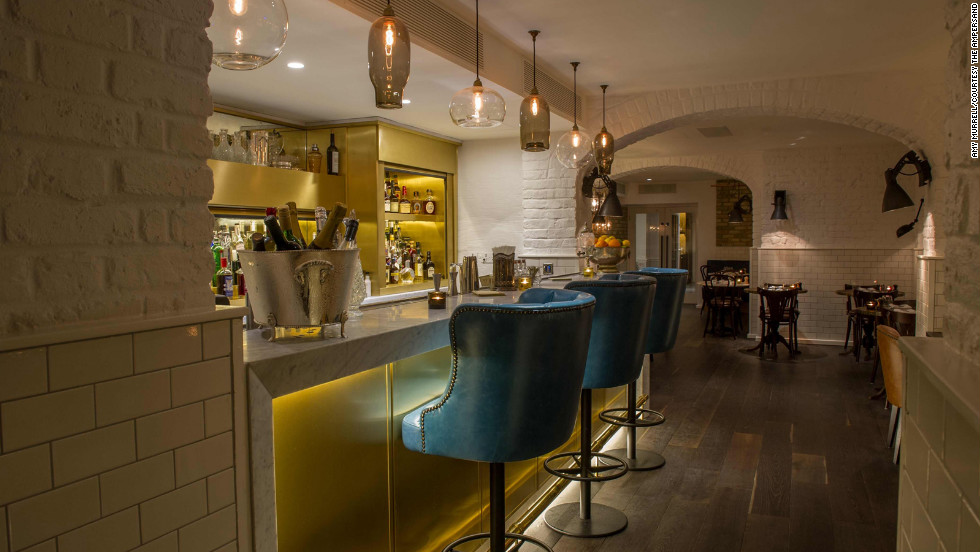 The Ampersand Hotel, which opened in August 2012, features a new patisserie area, an underground cocktail bar, a library, a game room and a high-tech, 24-hour gym.