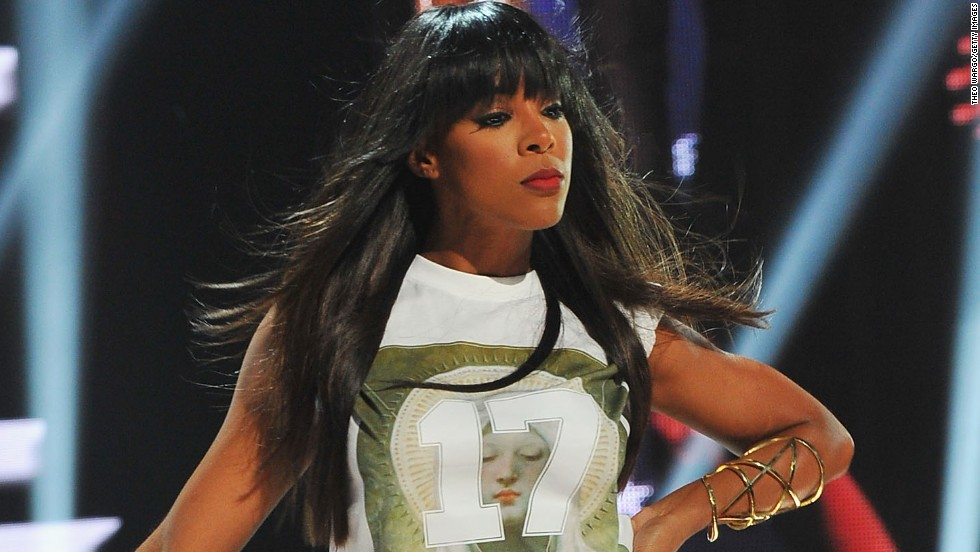 Kelly Rowland hosts BET's Rip The Runway in New York City.
