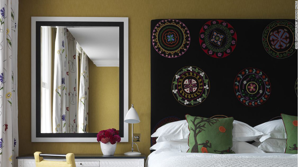 The Dorset Square Hotel was recently gutted and redesigned with chic, slightly eccentric touches.