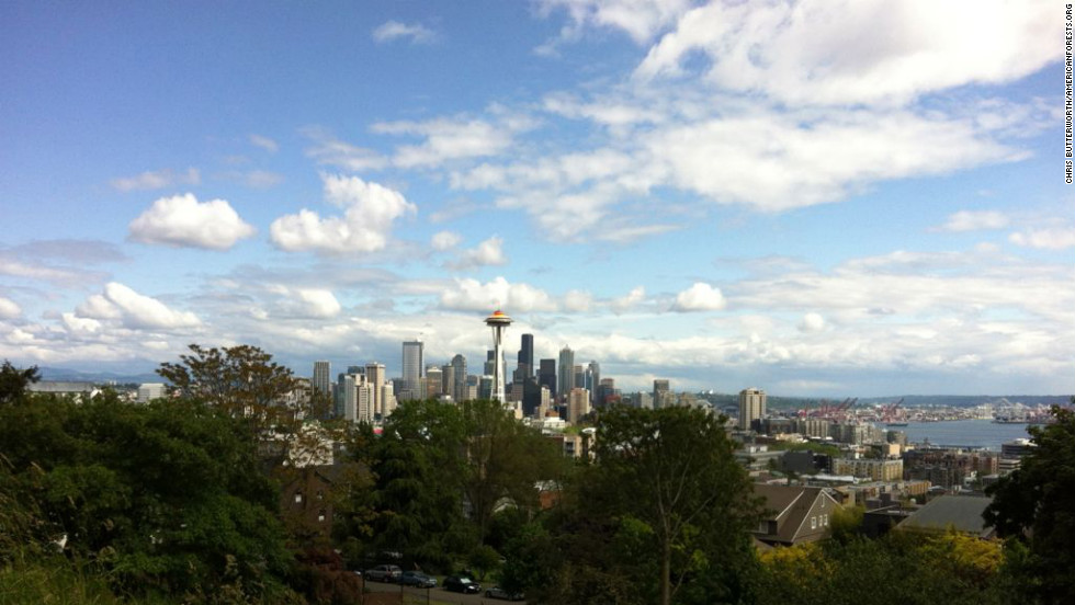 """Seattle's old-growth forest and lake serve as a natural preserve for hundreds of species of trees, plants, birds and waterfowl. Located between bodies of fresh and salt water, Seattle nurtured its diverse tree population further by converting an old <a href=""""http://www.seattle.gov/parks/park_detail.asp?id=293"""" target=""""_blank"""">crude oil plant into a city park</a>."""