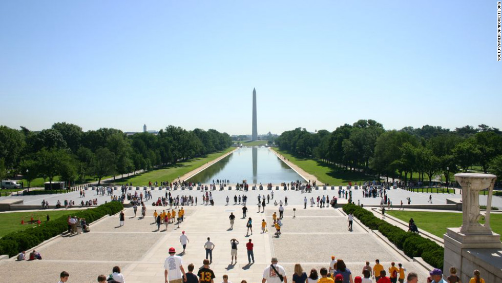 "The National Mall, its monuments and memorials provide Washington with 17,000 trees. The nation's first urban park, Rock Creek Park, is also in D.C., which boasts more than 7,000 acres of parkland within its limits. The District's trees provide <a href=""http://nrs.fs.fed.us/pubs/rb/nrs_rb001.pdf"" target=""_blank"">$3.6 billion in structural value </a>to the city, and save $2.6 million in energy costs each year."