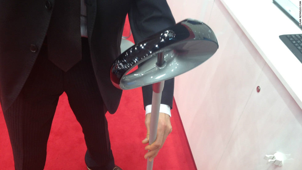 Fujitsu's Generation walking stick features GPS technology to track and monitor users