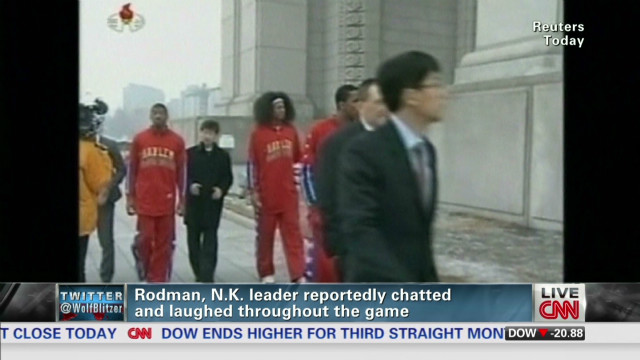 Dennis Rodman's basketball diplomacy