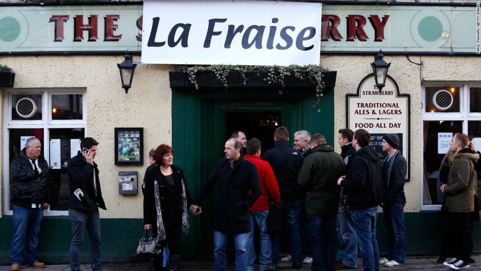 "The locals have even renamed their own pub ""La Fraise"" instead of its original name, ""The Strawberry.""  Newcastle is more famous for its Brown Ale than its Chardonnay and Merlot."