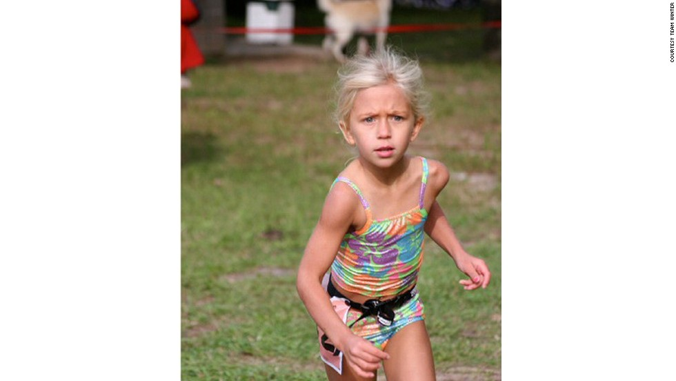 Winter completed her first triathlon at the age of 5. By the age of 9, she was competing in her first Olympic-distance triathlon.