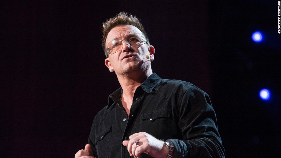 Bono says the world is on track to eliminate extreme poverty -- if corruption and dictatorship don't get in the way.