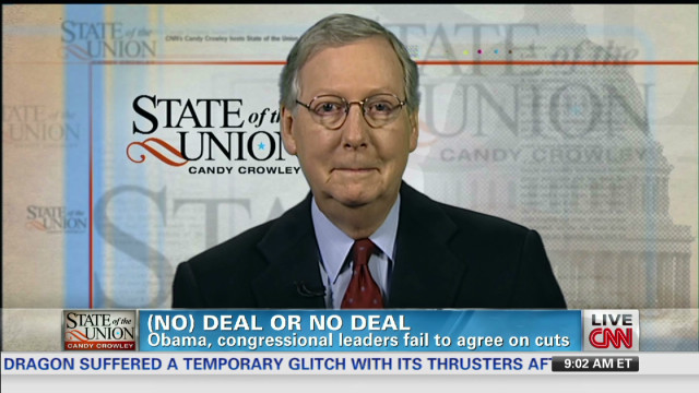 McConnell: No agreement to raise taxes