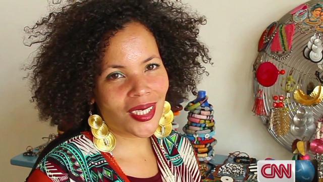 Designer inspired by Johannesburg market