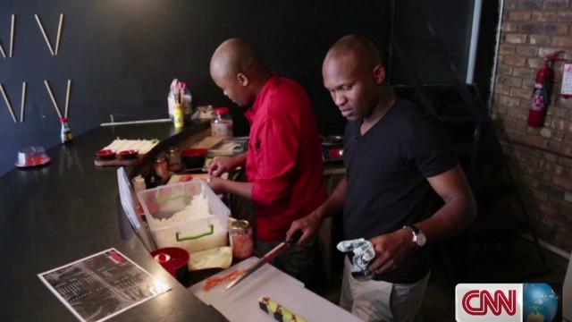 Cultures mix in 'Blackanese' restaurant