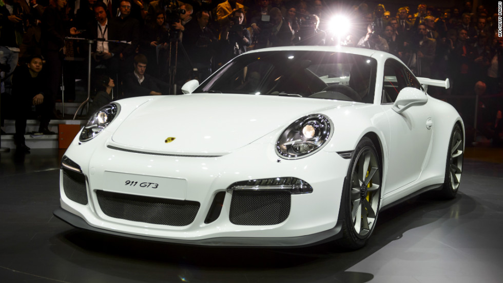 Posche's new 911 GT3 will set you back a meager $152, 331. The 3.8-liter flat-six engine has a top speed of 196 miles per hour.