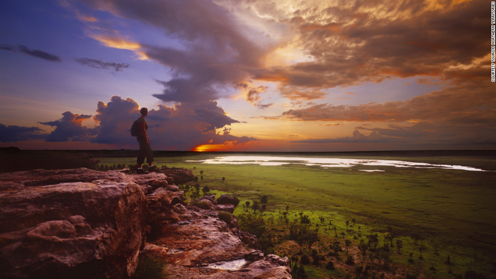 The untamed Outback may be no more picturesque than in Kakadu.