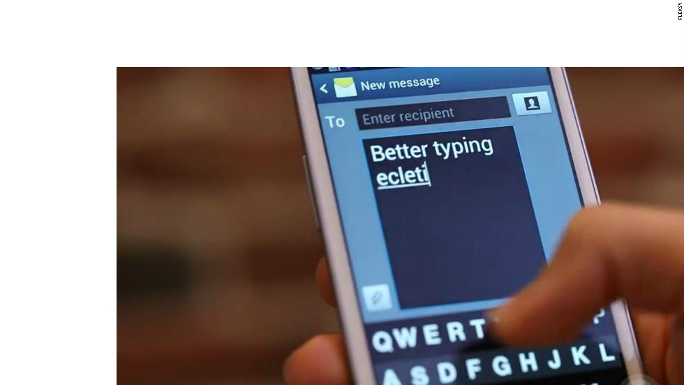 Originally designed for visually impaired smartphone users, Fleksy employs predictive text and voice prompts to make it easier to type on a touchscreen.