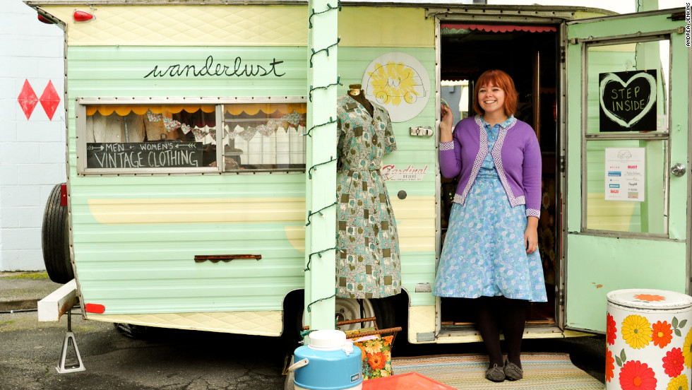 Vanessa Lurie's Wanderlust trailer eventually expanded into an online boutique and brick and mortar store in Portland, Oregon.