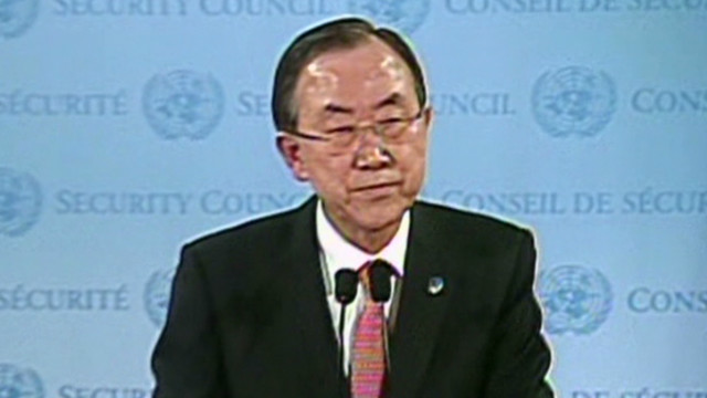 Ban Ki-moon reacts to Chavez's death