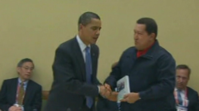 The relationship between Chavez and U.S.