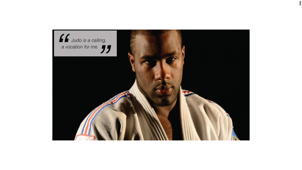 teddy riner face