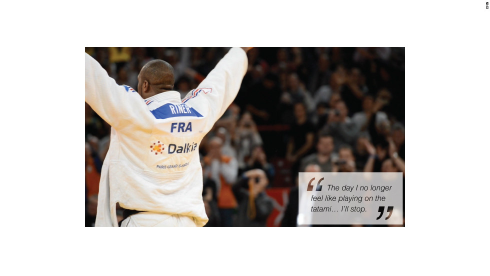Teddy Riner Winner