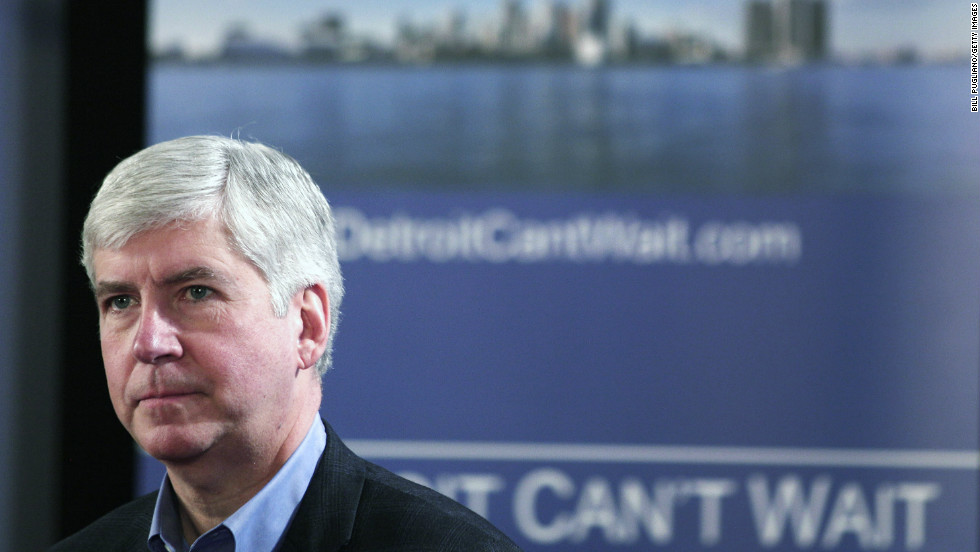 Michigan Republican Gov. Rick Snyder rejected gun rights advocates' push to sign a bill on Thursday, saying it could expose domestic violence victims.