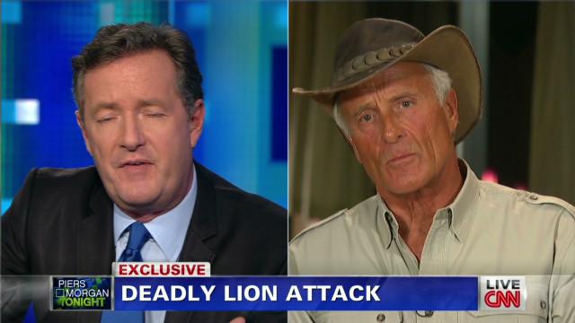 Hanna: Sanctuary lions are wild animals