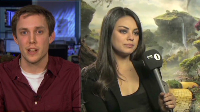 BBC Radio's Kunis interview goes viral
