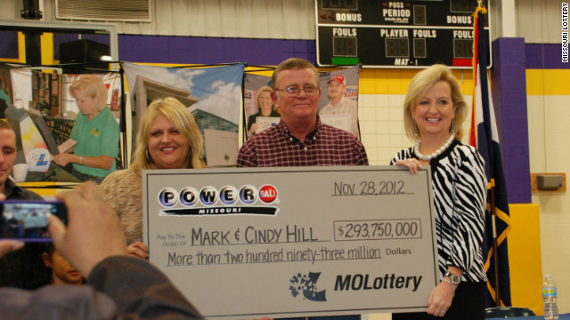 Lottery winners Mark and Cindy Hill are giving back to their community.