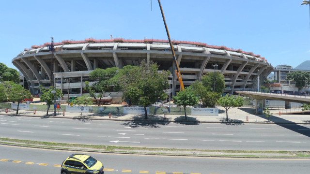 FIFA chief concerned about stadium